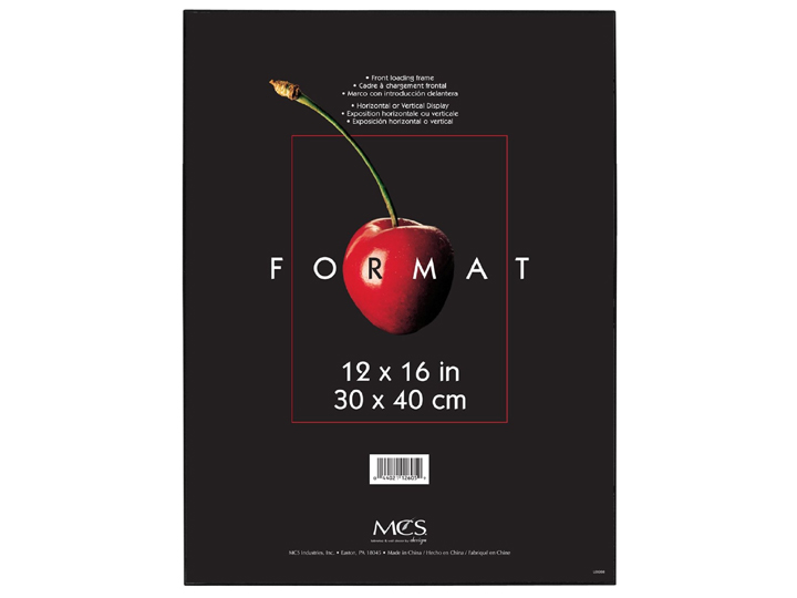 Mcs Format Frame 12x16 Black Memopocketrefillpages