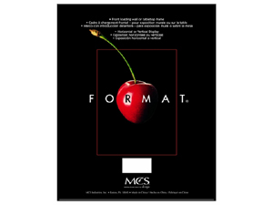 MCS Format Frame 9x12 Black