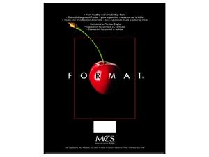 MCS Format Frame 11x17 Black