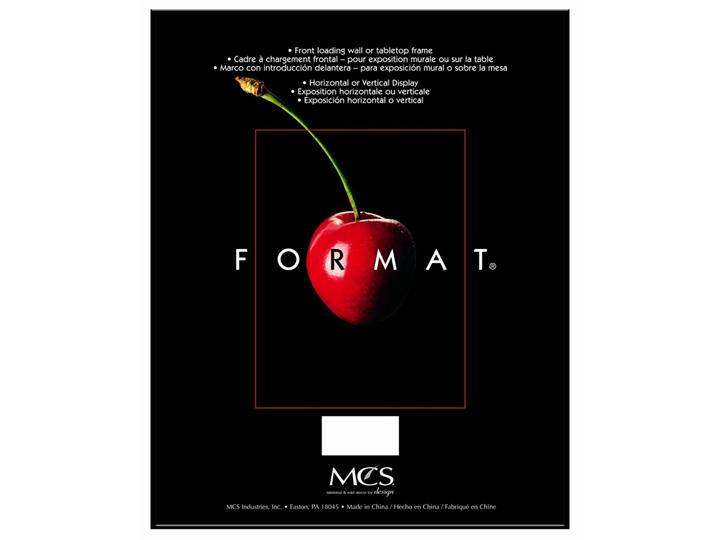 Mcs Format Frame 8x12 Black Customphotopockets
