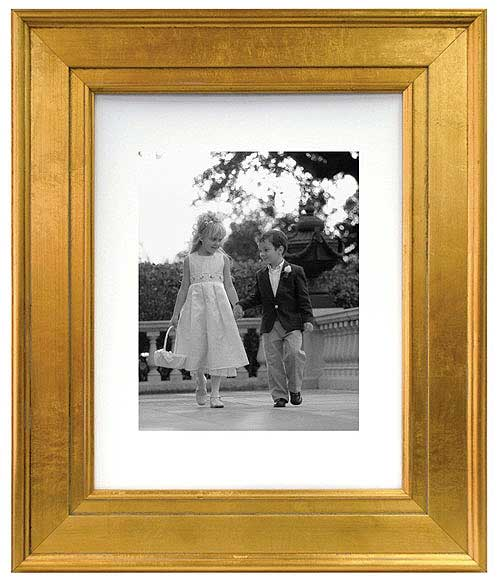 MCS Gold Portrait Picture Frame 8x10 For 5x7