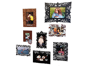 Self Adhesive Wall Frames (28 Frame Assortment)