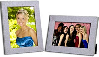 4x6 Wood Shimmer Picture Frame