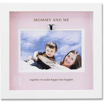 Lawrence Mommy & Me 4x6 Picture Frame - White