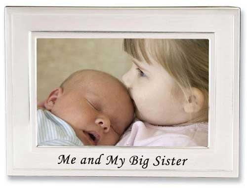Lawrence Big Sister 4x6 Picture Frame