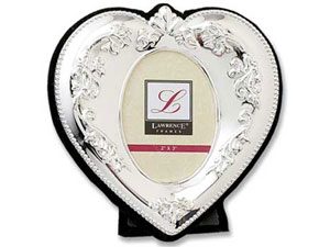 Lawrence Silver Heart Frame 2x3