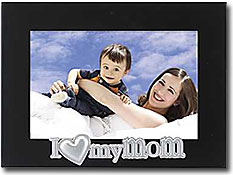 Lawrence I Love My Mom 4x6 Picture Frame