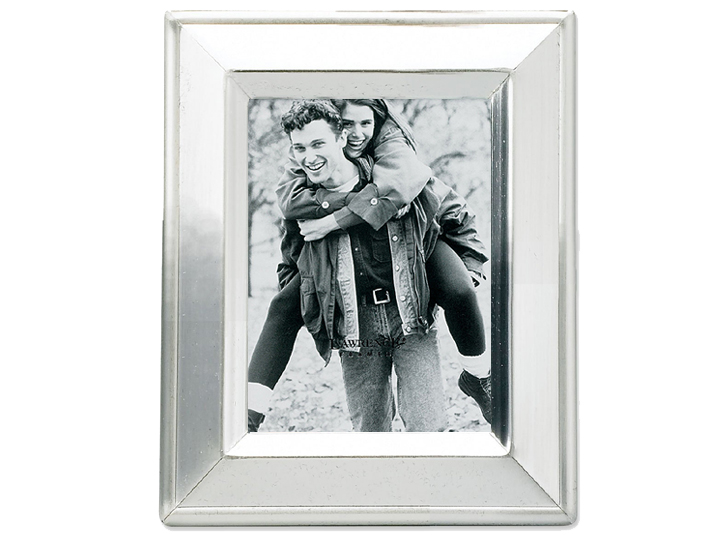Lawrence 2x3 Brushed Silver Plated Picture Frame