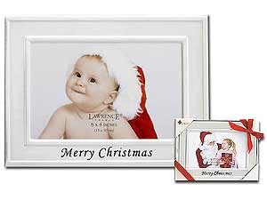 Lawrence Merry Christmas Metal Frame 4x6 Horizontal