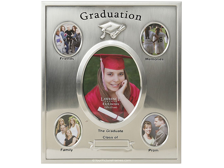 Lawrence Silver Plated Graduation Frame