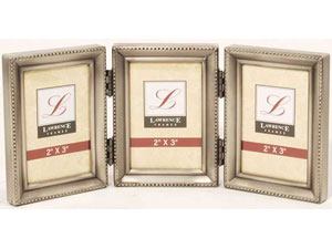 Lawrence 2x3 Triple Pewter Bead Frame
