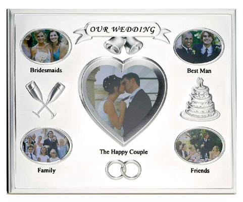 Lawrence Silver Plated Wedding Frame