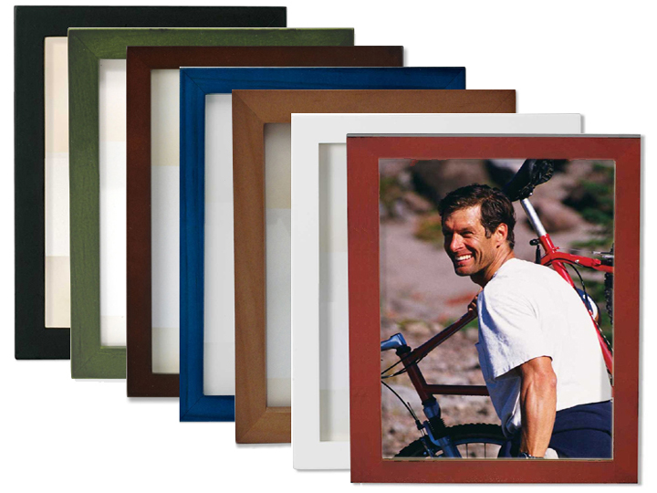 Lawrence 4x6 Wood Frame Blue