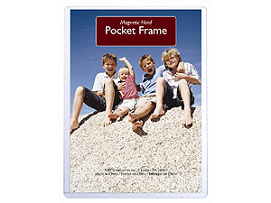MCS Hard Magnetic Pocket Frame 8.5x11
