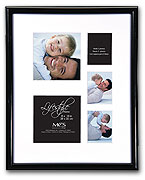 MCS Lifestyle 8x10 Collage Frame For 2x2.5 & 3.5x3.5
