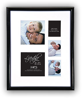 MCS Picture Frames MCS Lifestyle Collage Frame 8x10 w/3-2x2.5 & 2-3.5x3.5 Openings at Sears.com