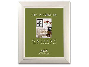 MCS Nantucket White Picture Frame For 11x14