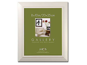MCS Nantucket White Picture Frame For 8x10