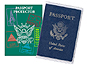 Freeze-A-Frame Clear Passport Protector