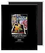 MCS 24x36 Original Poster Frames - Masonite Back (Pack of 6)