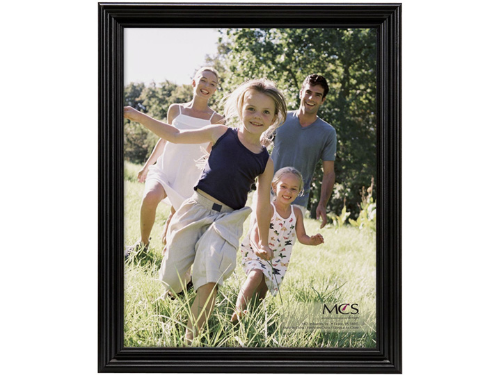 MCS Picture Frames MCS 12x16 Solid Wood Value Frames - Black at Sears.com