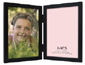 MCS Willow Wood Double Vertical Picture Frame For 5x7