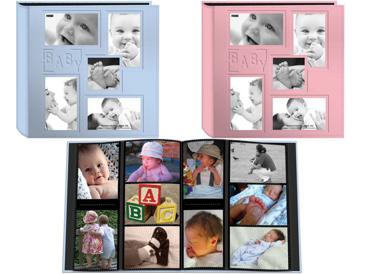 Pioneer Photo Albums Pioneer Collage Cover 4x6 Baby Photo Album at Sears.com