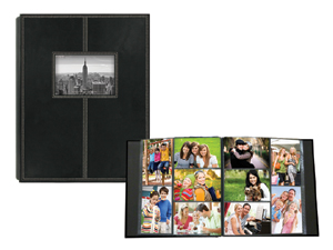 Pioneer 5-Up Sewn Frame 300 Pocket 4x6 Photo Album