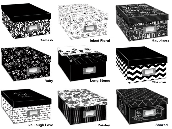 Pioneer Photo Albums Pioneer B1-BW Photo Storage - Black & White at Sears.com