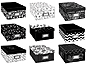Pioneer B1-BW Photo Storage Box - Black & White