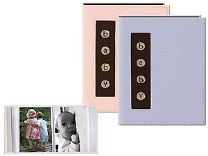 Pioneer BMB-46 4x6 Metal Buttons Brag Baby Photo Album