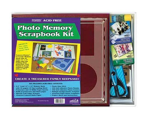 Pioneer Mb 10k 12x12 Memory Scrapbook Kit Pfaphotoalbum