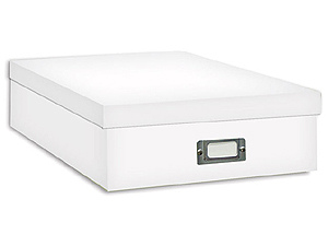 Pioneer Scrapbooking Storage Box - White