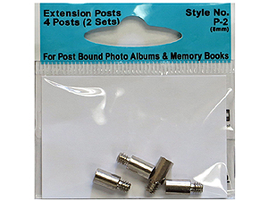 Pioneer Standard 8mm Extension Posts (2 sets)