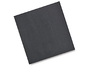 Acid Free Paper 12x12 Unpunched Black (100 Pack)