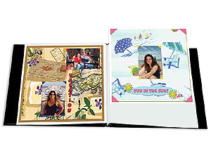 Pioneer 8x8 White Memory Book Refill Pages