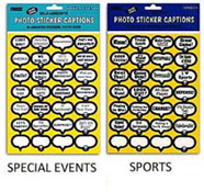 Pioneer Photo Caption Stickers