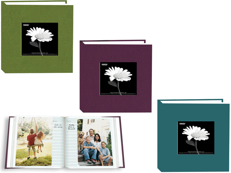 Pioneer DA-100CBFN 4x6 Natural Colors Cloth Frame Album