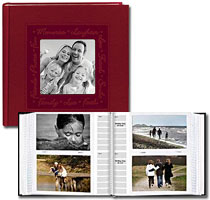 Pioneer DA-200CLSC 4x6 Embossed Frame Photo Album