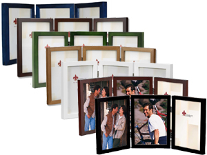 Lawrence 5x7 Triple Wood Frames