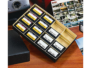 Lineco APS Film Cartridge Organizer Box