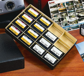 Lineco APS Film Organizer Box - Skivertex Outer