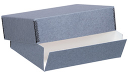 Lineco Gray Museum Storage Box For 8x10 (3 Inch Depth)
