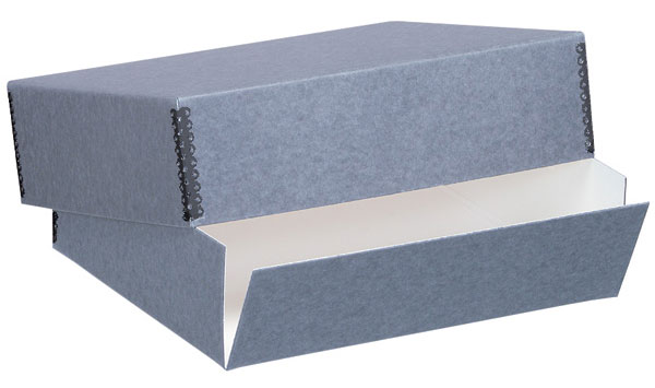 Gray Museum Storage Box For 8x10 (3 Inch Depth)