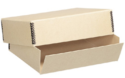 Lineco Tan Museum Storage Box For 11x17 (3 Inch Depth)