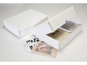 Lineco Greeting Card Storage Box - Ostrich