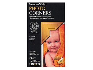 Lineco Traditional Paper Photo Mounting Corners