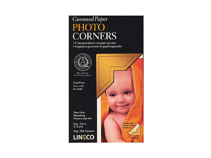Traditional Paper Photo Mounting Corners