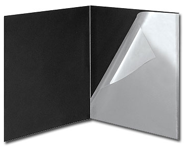 Lineco Black Presentation Folders 24x30 (5 Pack)