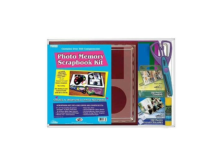 Pioneer Mb 88k 8x8 Memory Scrapbook Kit Apsringphotoalbum